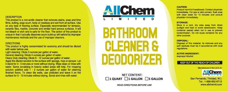 Bathroom Care  AllChem Limited