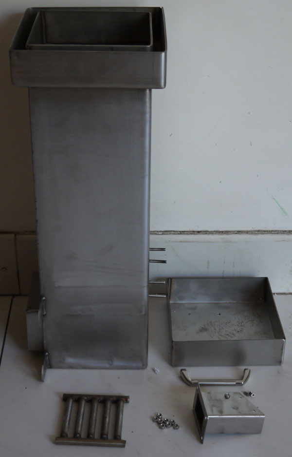Gravity Feed Natural Draft Stove Ii Gravity Feed Burner For Wood Pellet Chips Chunks And Coals