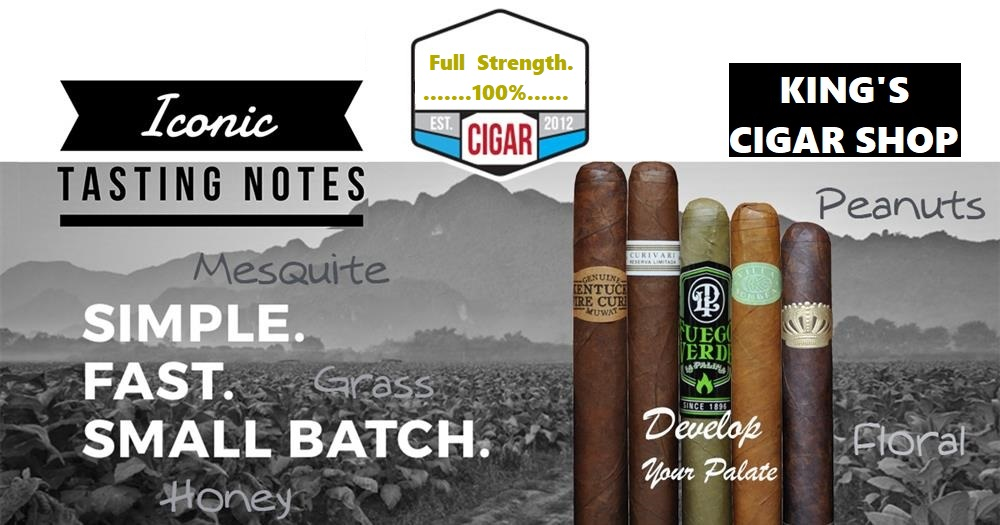 Cigars With Full Strength. 100%..