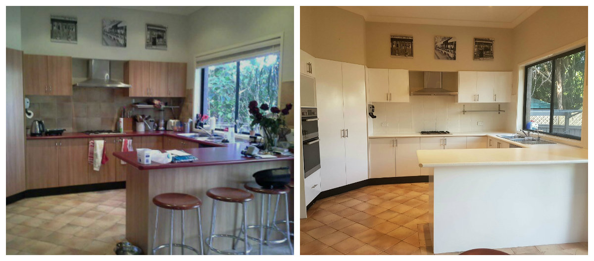kitchen resurfacing formica cabinets before after photos bathroom and monavale