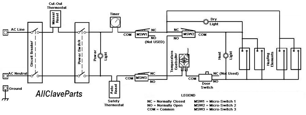 TUTTNAUER M/MK/MKV SERIES ELECTRICAL SYSTEM