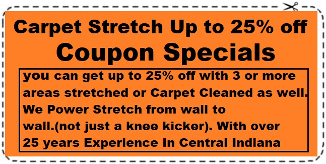carpet stretch up to 25% off