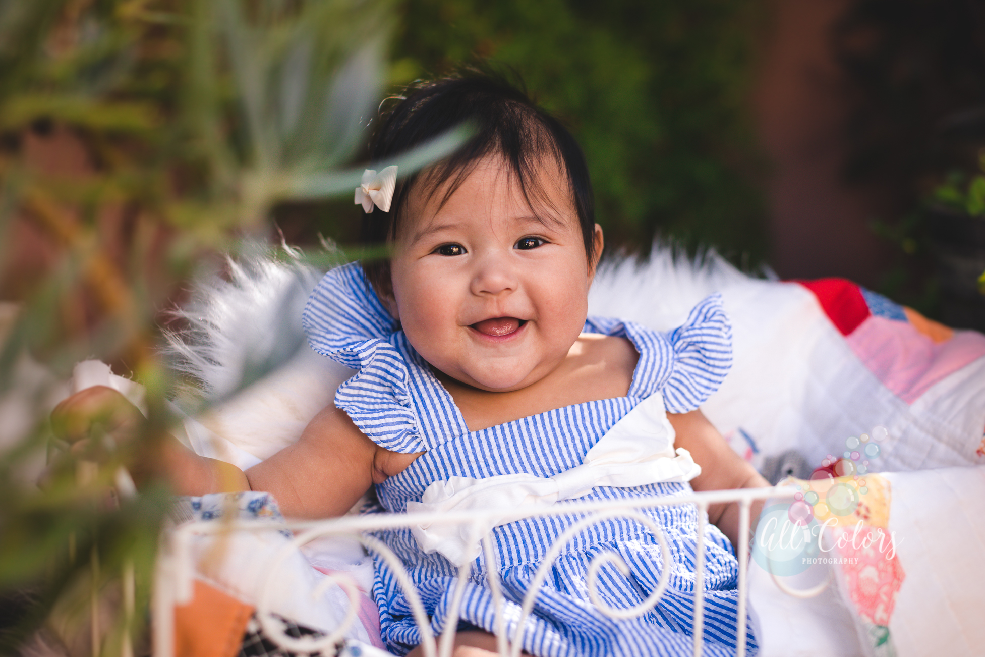 Milestone Photoshoot – 5 months old » San Diego Newborn Photographer – All ColorsPhotography