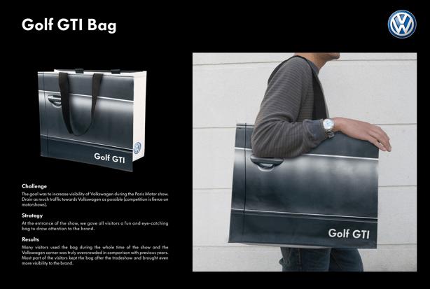 Bagvertising: los ejemplos más creativos de publicidad en bolsas (3/6)