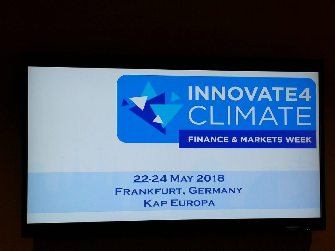 ALLCOT attends Innovate4Climate to promote a low carbon future