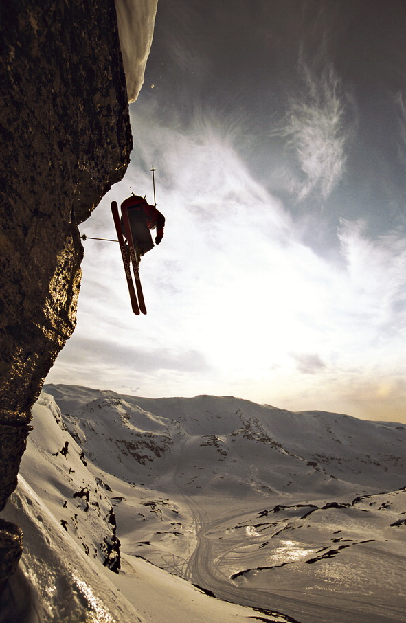 Skiing Extreme Sports