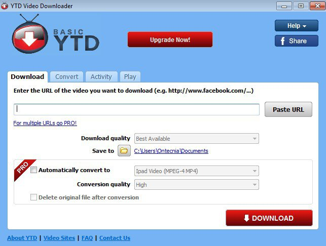 YTD-Video-Downloader-Pro-Serial-Key