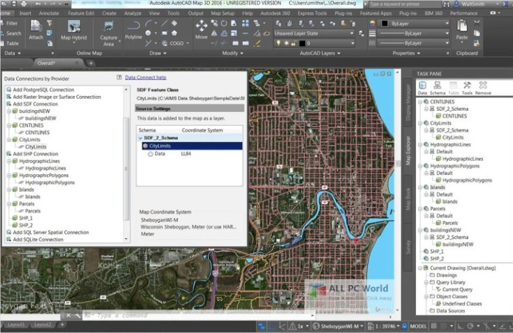 AutoCAD-Map-3D-2019-Free-Download