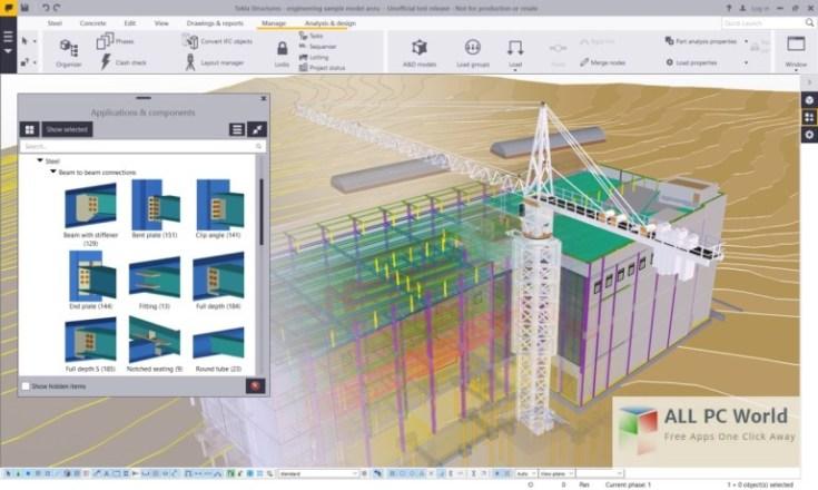 Tekla-Structures-SR3-User-Interface
