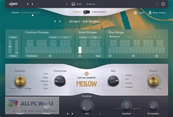 UJAM-Virtual-Bassist-MELLOW-2-Free-Download