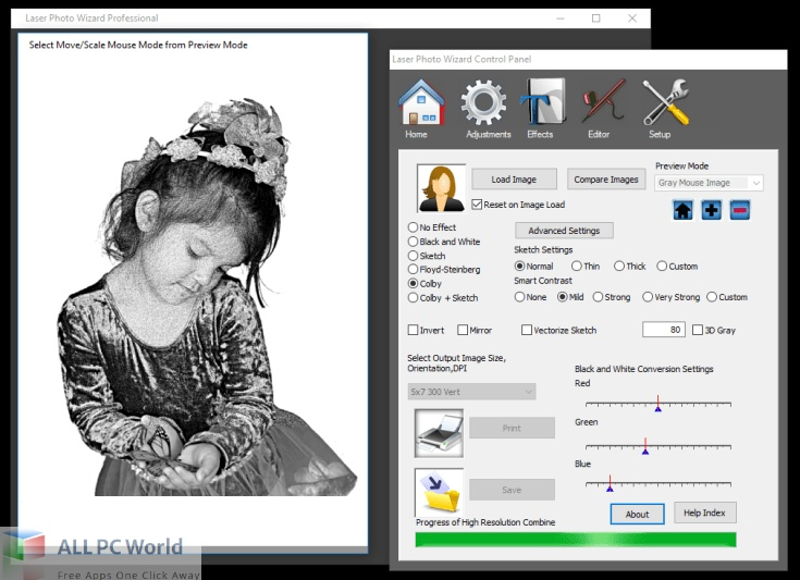 Laser-Photo-Wizard-Professional-10-Free-Download-Copy