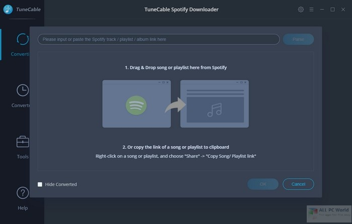 TuneCable-Spotify-Downloader-1.2-Free-Download