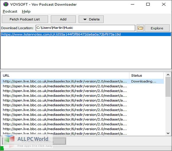 Vovsoft-Podcast-Downloader-2-Free-Download