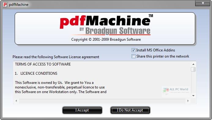 Broadgun pdfMachine Ultimate 15.57