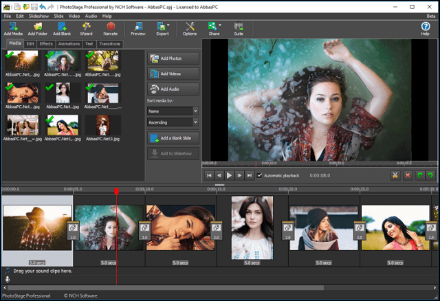 NCH PhotoStage Professional 8.86 Free Download