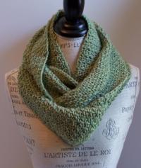 Easy Infinity Scarf Crochet Pattern  AllCrafts Free ...