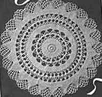 crochet doily patterns with diagram workhorse chassis wiring over 100 free at allcrafts net 1942