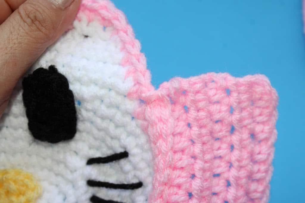 Crochet Hello Kitty Inspired Little Girls Purse All Crafts Channel