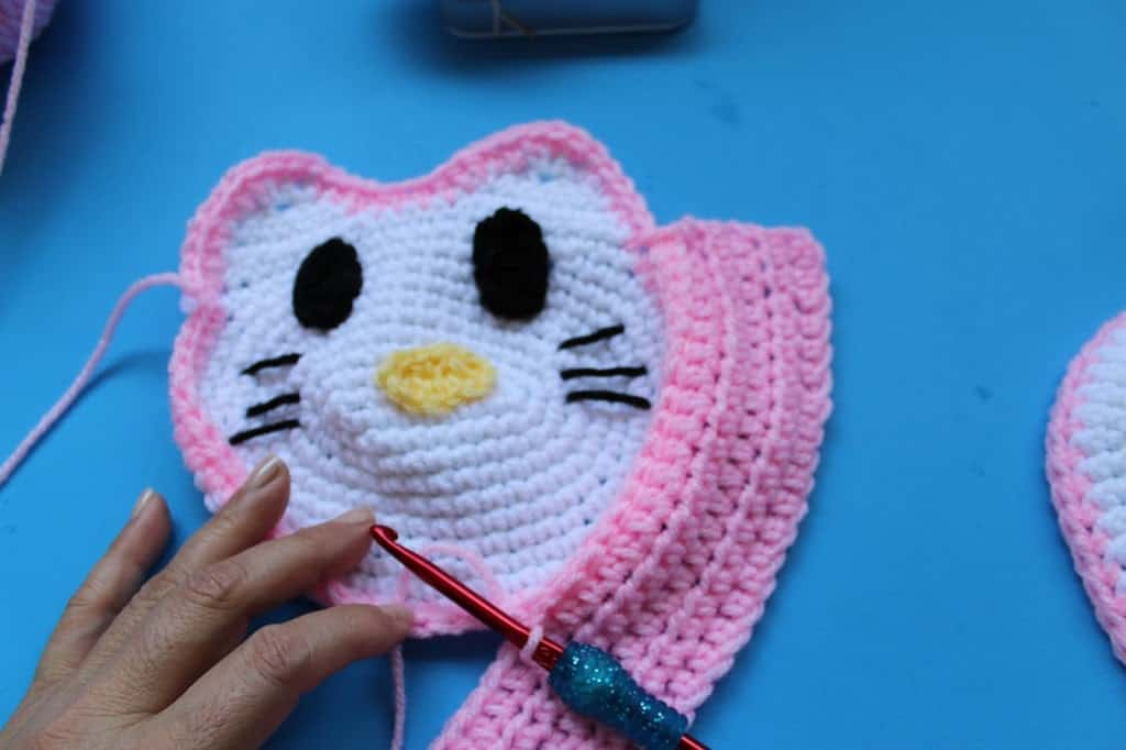 Crochet Hello Kitty Inspired Little Girls Purse All Crafts Channel