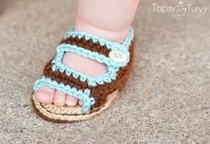 summer baby sandals