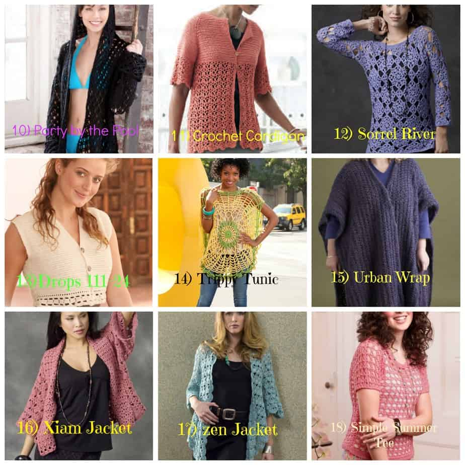 25 Plus Size Free Crochet Garment Pattern - Round Up - All Crafts ...