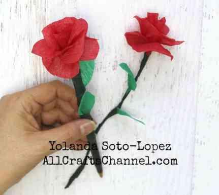 Paper Rose pen