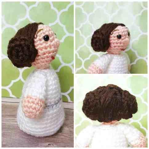Crochet Princess Leia