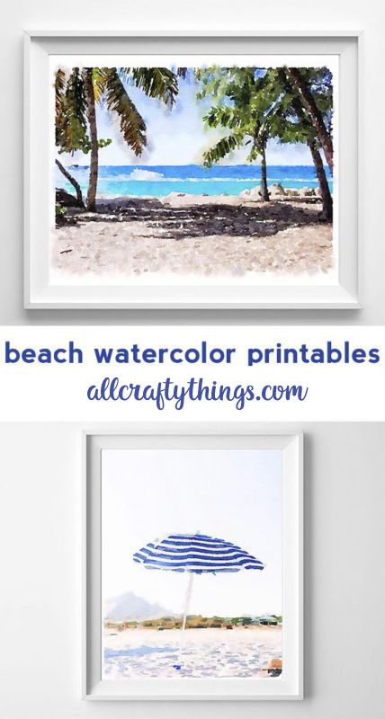 beach printable art