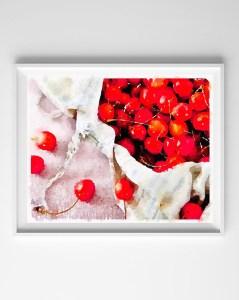 watercolor fruit printable 1