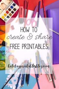 create free printables