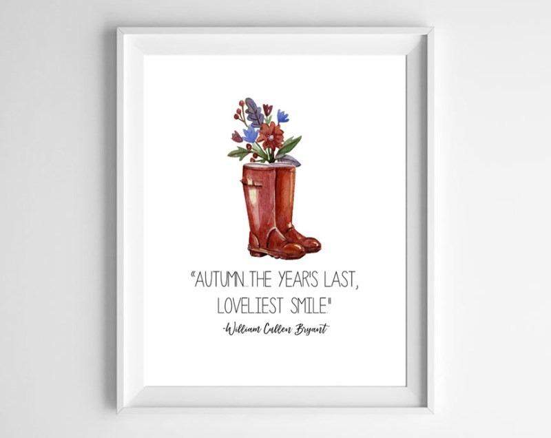 watercolor fall printable 1