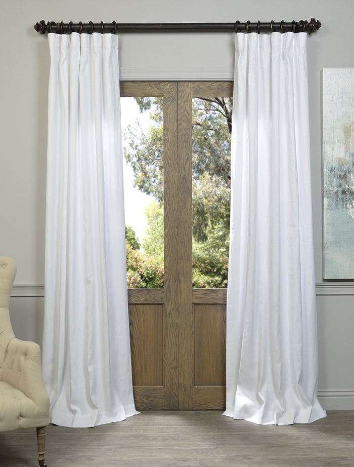 white french linen curtain all curtains and drapes high quality products at low price
