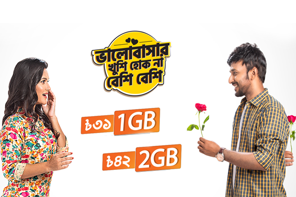 Banglalink 1GB and 2GB New net offer