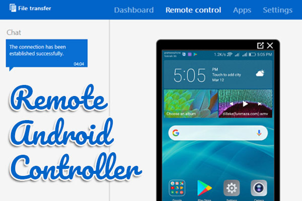Remote android controller