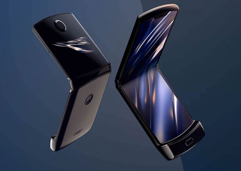 Motorola razr folding android phone