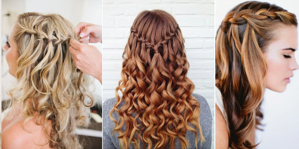 Image Result For How To Style Curly Medium Length Hair