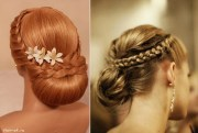 beautiful evening hairstyle - alldaychic