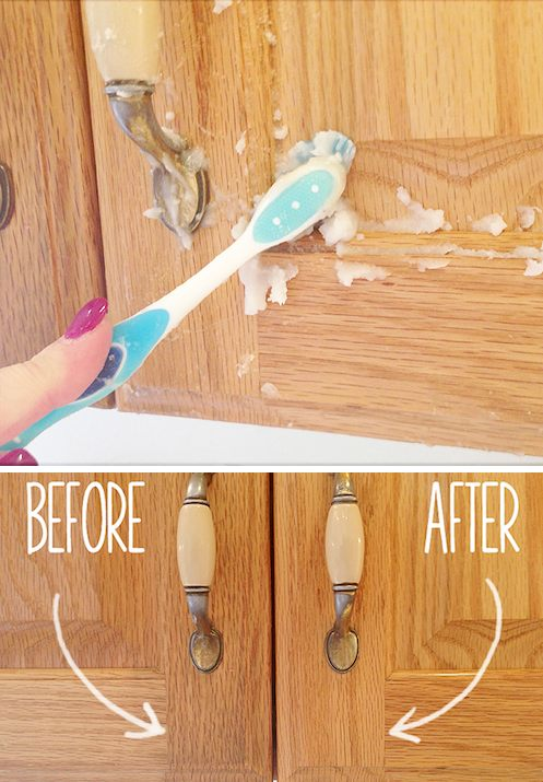 2 Clean kitchen cabinet doors easily cleaning tips and tricks