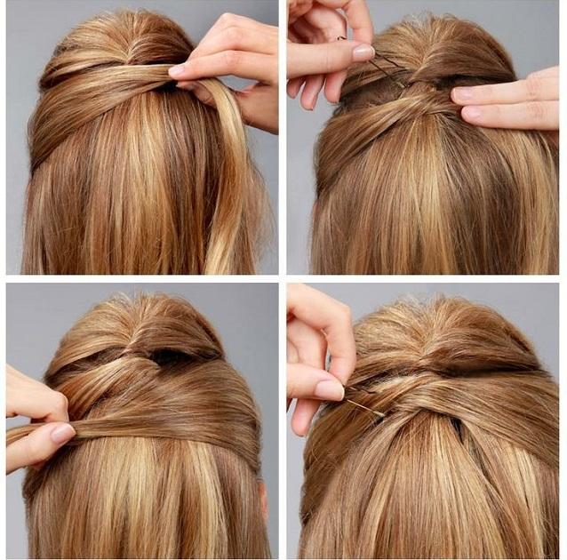 Criss Cross Hairstyle Tutorial AllDayChic