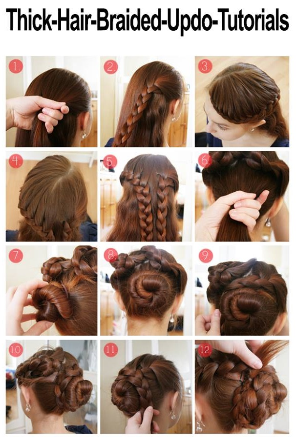 Braided Hairstyle For Thick Hair AllDayChic