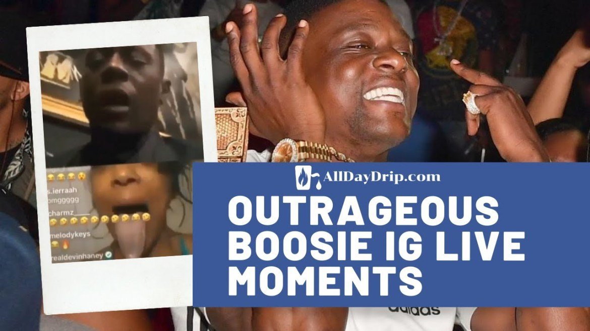 Outrageous Boosie IG Live Moments