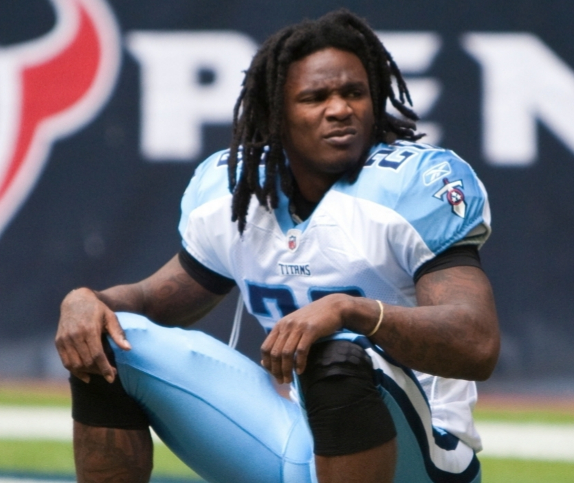 NFL STAR CHRIS JOHNSON ACCUSED OF MURDER FOR HIRE PLOT