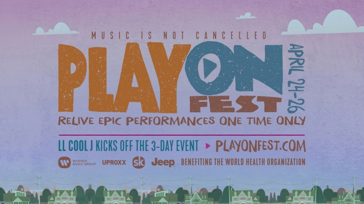 PLAY ON FESTIVAL: LIVESTREAM EVENT HAPPENING NOW!