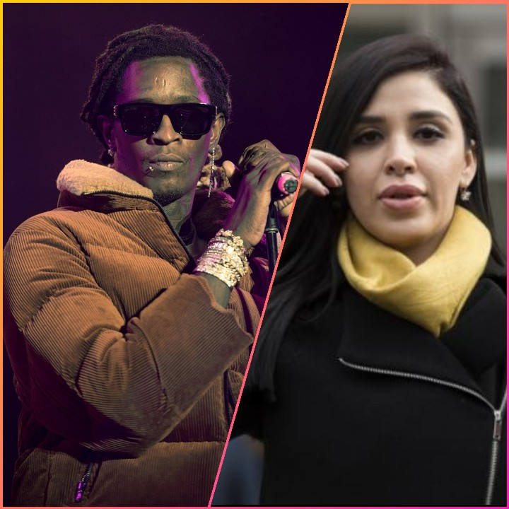 YOUNG THUG EXPLAINS WHY EL CHAPO'S WIFE  IS HIS PROFILE PIC
