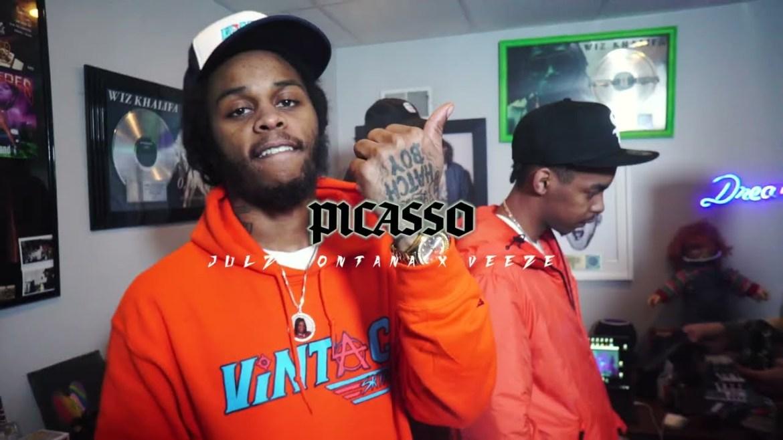 "NEW MUSIC ALERT! ""PICASSO"" BY JULZ MONTANA FT. VEEZE"