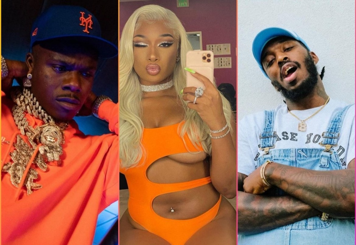 MEGAN THEE STALLION & DABABY GOT BEEF – AND PARDISON FONTAINE'S IN THE MIDDLE