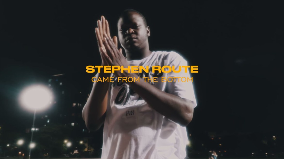 """NEW MUSIC ALERT! """"CAME FROM THE BOTTOM"""" BY STEPHEN ROUTE"""