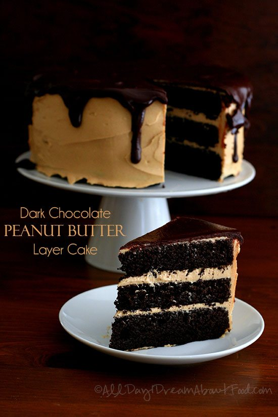 Low Carb Chocolate Peanut Butter Layer Cake