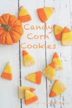 Low Carb Grain-Free Candy Corn Cookies