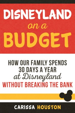 Build your vacation budget from $0 to Disney with the money saving tips and tricks in Disneyland on a Budget by Carissa Houston. Get the Kindle book at Amazon.com